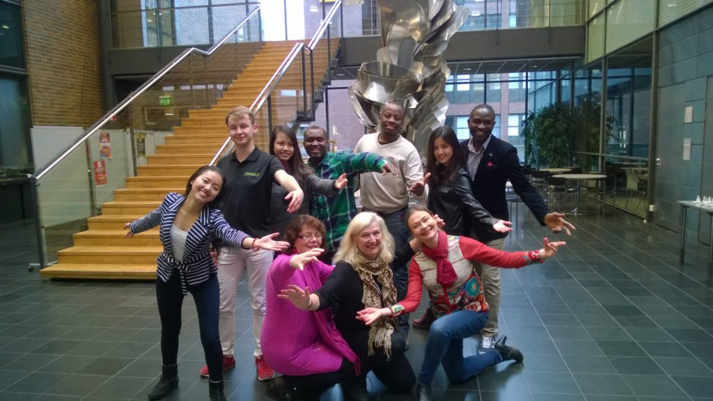 Dancing on Pasila Campus