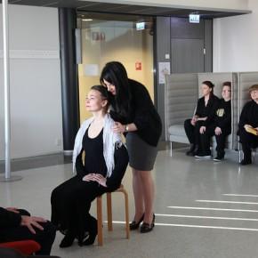 Dancing English Teacher: Unique performance at Porvoo Campus